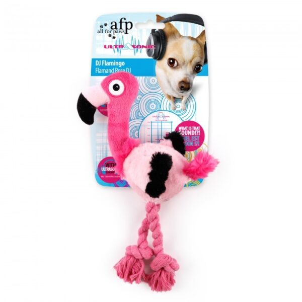 AFP ULTRASONIC DJ FLAMINGO DOG