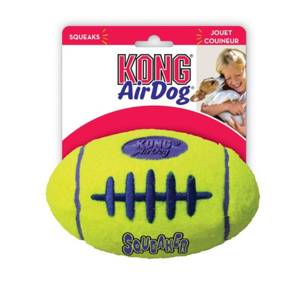 AIRDOG SQUEAKER FOOTBALL LARGE