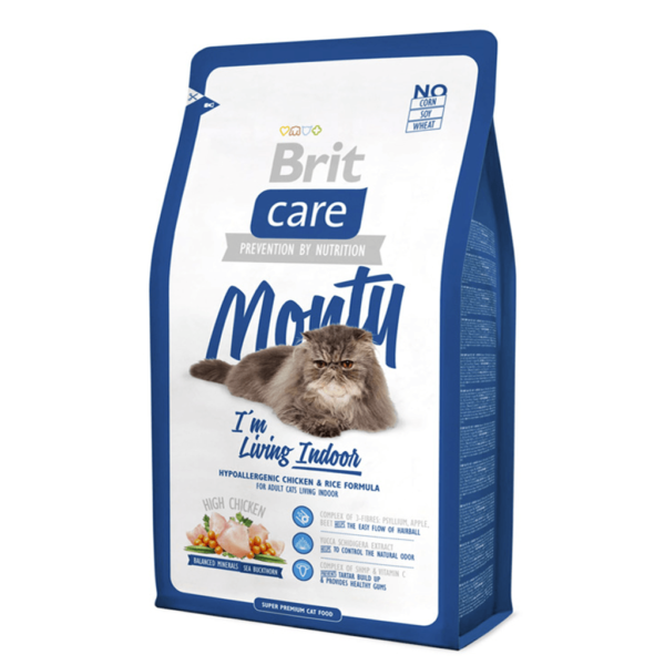 BRIT CARE MONTY INDOOR CAT ADULT 7kg