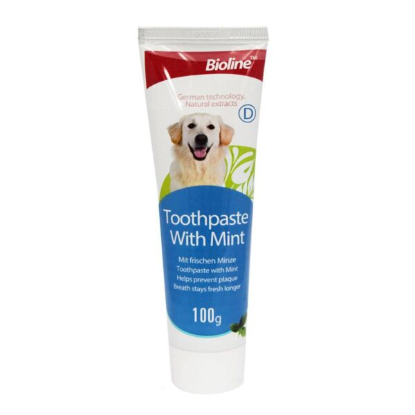 BIOLINE TOOTHPASTE WITH MINT 100gr