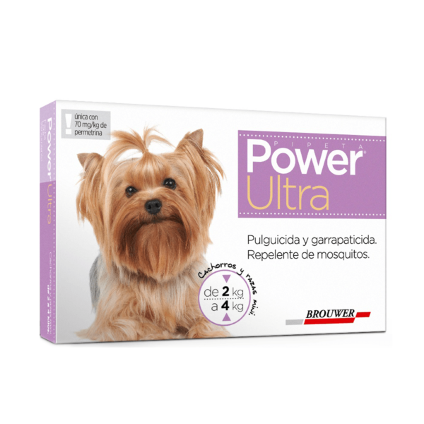 POWER ULTRA PULGUICIDA Y GARRAPATICIDA 2-4kg