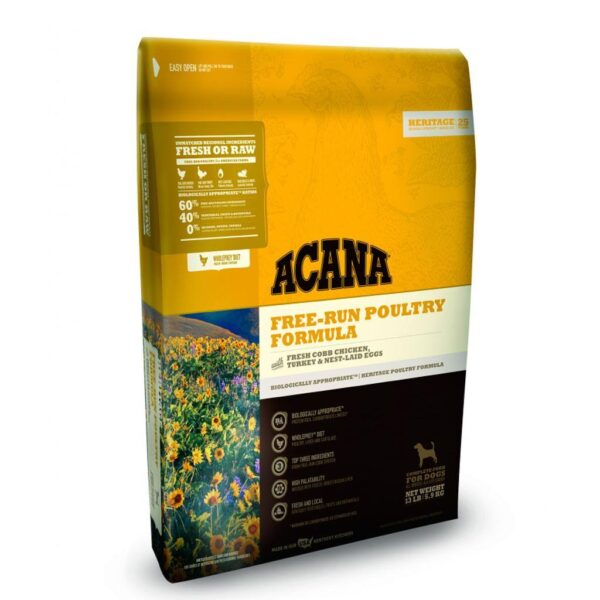 ACANA FREE-RUN POULTRY DOG 11,35kg